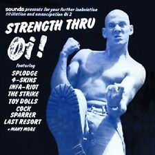 Strength Thru Oi! CD NEW SEALED Punk Skinhead 4 Skins/Cock Sparrer/Last Resort+