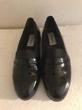 Mezlan Mirage Black Patent Leather Tuxedo Shoes  7 1/2 W