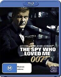 The Spy Who Loved Me Blu-Ray New & sealed 007 James Bond Roger Moore