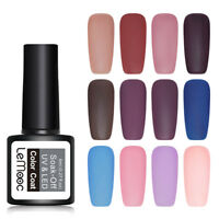 LEMOOC 8ml Matte Gellack Soak Off Nagel Kunst Gel Varnish UV Gel Colors