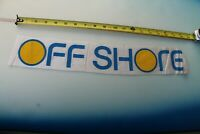 OFF SHORE Clothing Sunset Surfing Vintage 80's Rare Surfboard Laminating DECAL