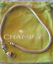 "brand new chamilia bracelet 7"" lobster claw clasp"