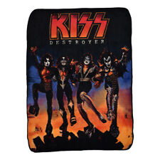 KISS Destroyer Fleece Blanket