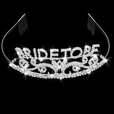 BRIDE TO BE TIARA Bachelorette NIGHT OUT HEN PARTY Wedding Bridal Headband