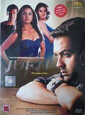 JURM - ORIGINAL TIP TOP BOLLYWOOD DVD - Bobby Deol, Lara Dutta, Millnad Soman.