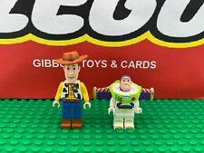 LEGO WOODY & BUZZ LIGHTYEAR minifigure DISNEY TOY STORY sets 7590 7593 7597 7598