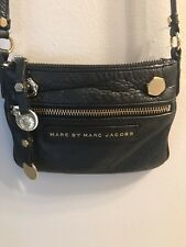 Marc By Marc Jacobs Crossbody Bag Black Gold Hardware