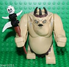 LEGO The Hobbit. Goblin King Minifigure with Club from set 79010 NEW!!!!