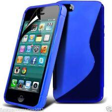 Fundas y carcasas transparentes Para iPhone 5c color principal azul para teléfonos móviles y PDAs