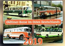 Kalender Bus Ikarus Skoda IFA VEB Kraftverkehr Verkehrsbetriebe Oldtimer