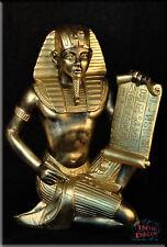 Ägyptische Figur Ramses Pharao Gott Statue Skulptur Dekofigur Stuckgips