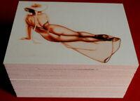 OLIVIA '98 - COMPLETE BASE SET (72 cards) - Comic Images 1998