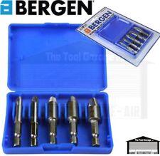 """BERGEN Tools 5pc Broken Screw & Bolt Extractor Set 1/4"""" Hex Drive NEW 2551"""