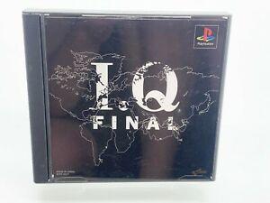 Vintage Video Game PlayStation 1 PS1 IQ Final *Japanese Import*