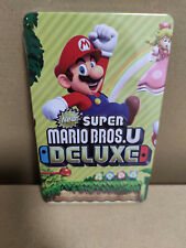 Super Mario Bros. U Deluxe - Steelbook - Custom - new - Switch - no game