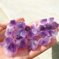 50g Natural Purple Amethyst Quartz Crystal Rock Stone Craft DIY Decoration