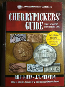 Cherrypickers' Guide to Rare Die Varieties, 6th Edition, Vol. 1, Used FREE Ship