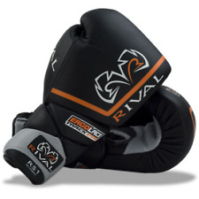 Rival Rs1-Pro Black 18oz Boxing Sparring Gloves