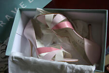 Rare! New unused £75 Ravel leather pink sandals shoes 5.5 39