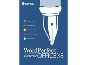 Corel WordPerfect Office X8 Standard Limited Quantites! FREE  SHIPPING!