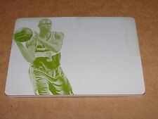 2014-15 Immaculate BRADLEY BEAL #50 Yellow Printing Plate 1/1 WIZARDS - Gators
