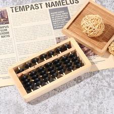 7 Rods Beads Abacus wood Soroban Column Math Aid Tool Ancient Chinese Calcula JD