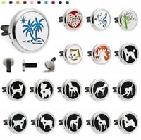 Car Mini Vent Clip Air Freshener Essential Oil Aroma Diffuser Various style dogs