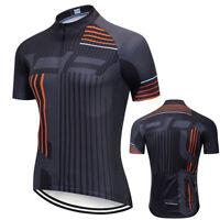 Mens Cycling Jersey Bicycle Bike Short Motocross MTB Shirt Team Bib Road Race