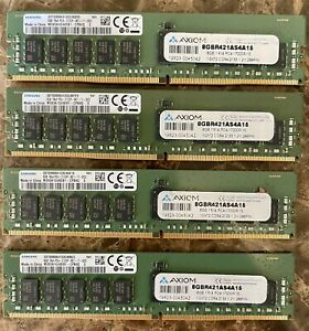 J9P82AA-AX Certified for HP RAM 32GB DDR4-2133MHz 288-Pin ECC Reg Server Memory