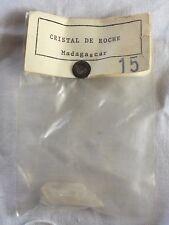 Cristal de Roche - N°15 - Pierre de collection - Comptoir de géologie- VO