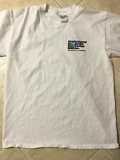 PROFESSIONAL AUDIO DESIGN TWO SIDED WHITE T-SHIRT FROM 2000 AES CONVENTION, RARE