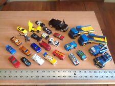 Toy Cars & Trucks Set Lot of 27 Hotwheels, Buddy L, Matchbox, Playart + more