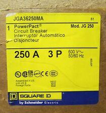 Square D I-Line Power Pact Circuit Breaker w/ Motor Operator 250 Amp Jga36250Ma
