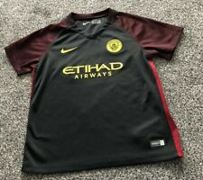 Man City Football Home Shirt 2017-18 Youth XL 13-15 ans
