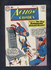 Action  comics 265  Silver age  Superman Early Supergirl Stunning VF+