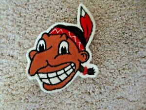 Vintage 1940s-1950's CLEVELAND INDIANS Old CHIEF WAHOO Patch