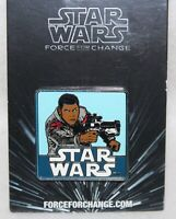 "Walt Disney & Lucas Films Pin Trading 2015 STAR WARS THE FORCE AWAKENS ""FINN"""