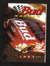 Winston Cup--Ricky Craven--1997 Pocket Schedule--Budweiser