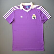 4.9/5 Real Madrid Football Retro Vintage Re-issue Remake Jersey Adidas Size S