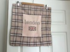 Union Jack London Checked Cushion Cover