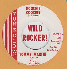 ROCKABILLY REPRO: TOMMY MARTIN - Hoochie Coochie/Let It Ride TUNEGLOW