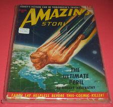 AMAZING STORIES: MARCH 1950 ~  Robert Bloch,  William F. Temple