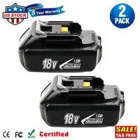 2x 18V 2.0Ah LITHIUM ION BATTERY LXT FOR MAKITA BL1830 BL1815 US LATEST PACK