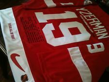 Detroit Red Wings Steve Yzerman Career Stats Jersey SZ 56
