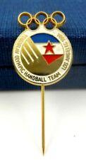 1984 LOS ANGELES OLYMPIC GAMES YUGOSLAVIA OLYMPIC NOC PIN BADGE RARE