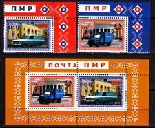 MOLDOVA / PMR Transnistria 2013 EUROPA: Transport. CORNER Set & Souv Sheet, MNH