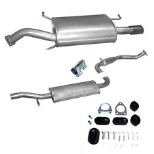 Exhaust Pipe End Silencer Volvo S40/V40 1.6i Saloon New + Assembly Kit