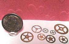 Dollhouse Miniature Gears - Tiny Gears for Workbench 1:12