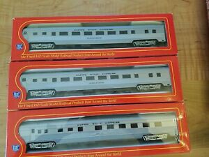HO SCALE IHC  SMOOTH SIDE COACH Empire State Express LOT OF THREE
