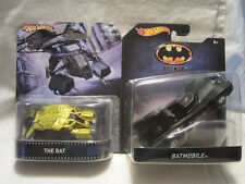 Hot Wheels Custom THE BAT Vehicle & Batman BATMOBILE!